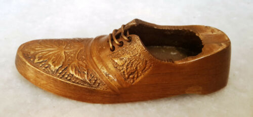 Shoes Shape Ashtray Brass Vintage Style Home Decor Smoker Use Paper Weight BM335