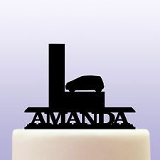 Personalised Acrylic Learner Driver Cake Topper Decoration - L Plate Gift Idea