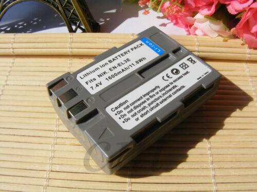 Nueva Batería para Nikon EN-EL3e en-el3a Enel 3E D300s D300 D90