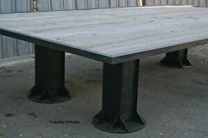 Industrial Conference Table Reclaimed Wood Urban Decor Board Room - Industrial conference room table