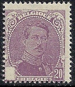 Belgium Stamps 1914 Obp 131 Error Mlh Vf Ebay