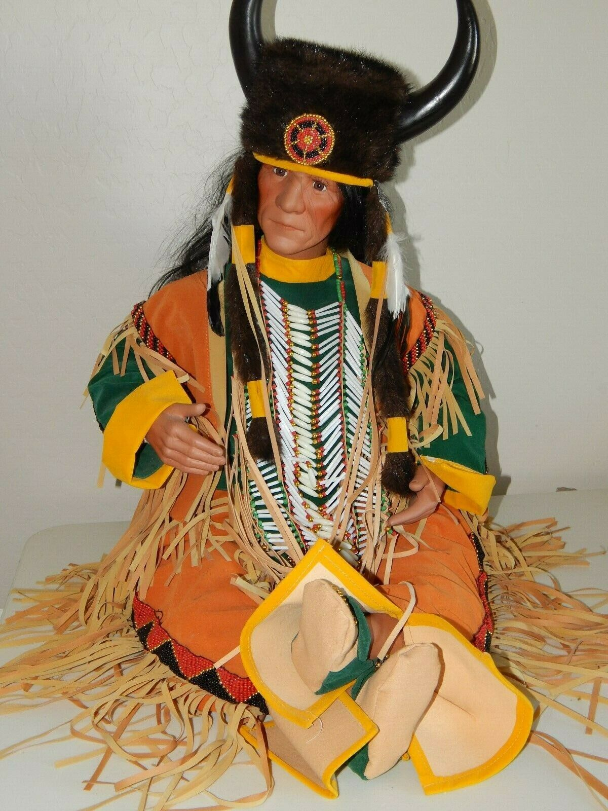 Timeless Sammlung Native American Indian Doll by Nanci  Long Horn    263 5000