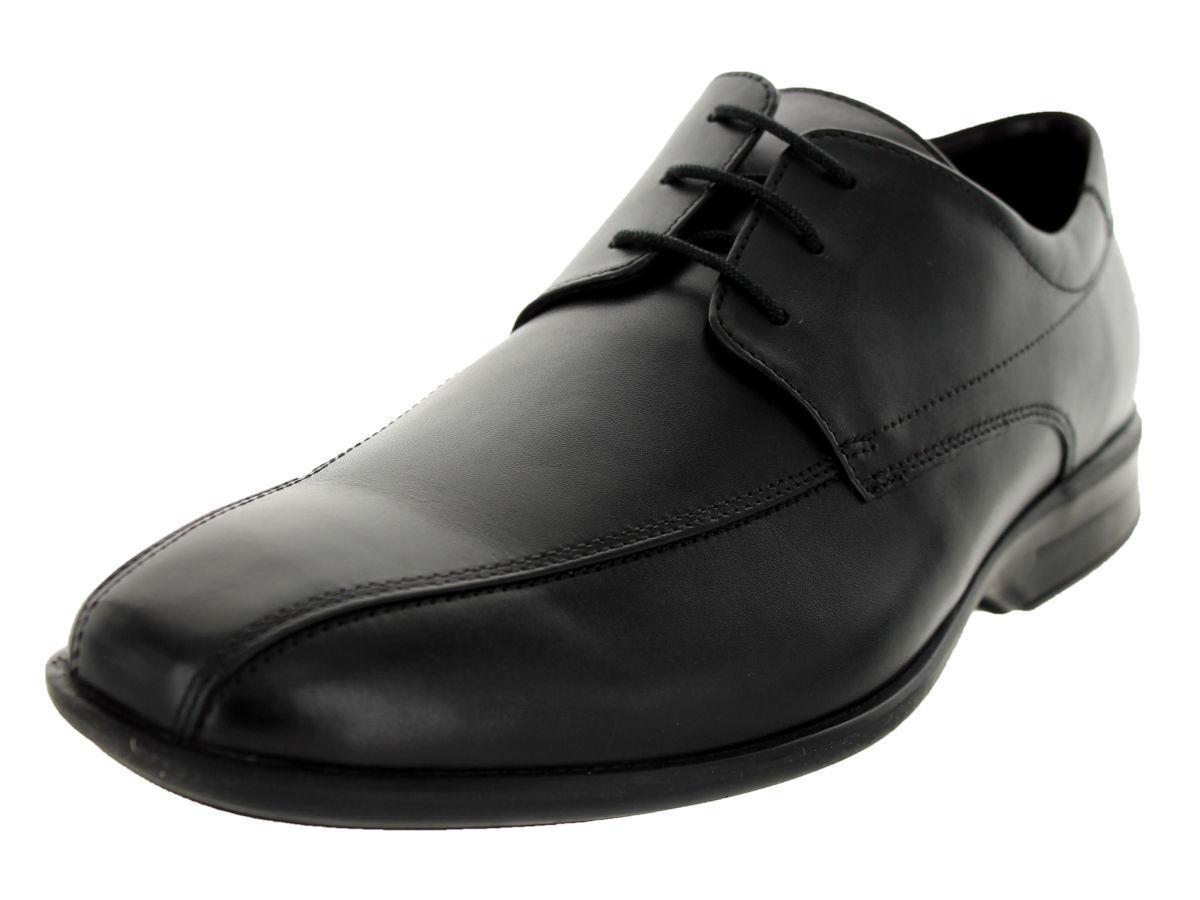 Da Uomo Clarks Nero Pelle Stringati Scarpe Scarpe Scarpe G RACCORDO-gadwell OVER | Qualità E Quantità Garantita  | Sig/Sig Ra Scarpa  a25f8f