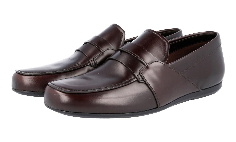 shoes PRADA LUXUEUX 2DE075 brown NOUVEAUX 7 41 41,5