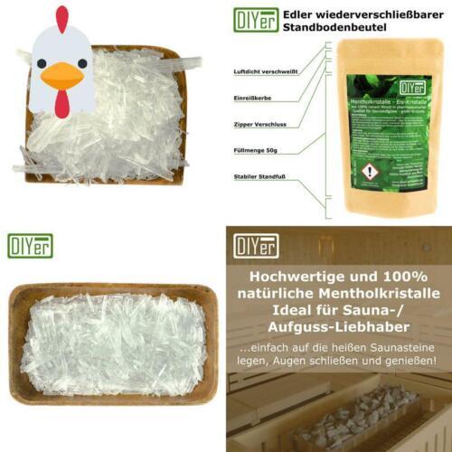 Zertifizierte Qualität Mentholkristalle Kristalle Für Sauna Aufguss Eism