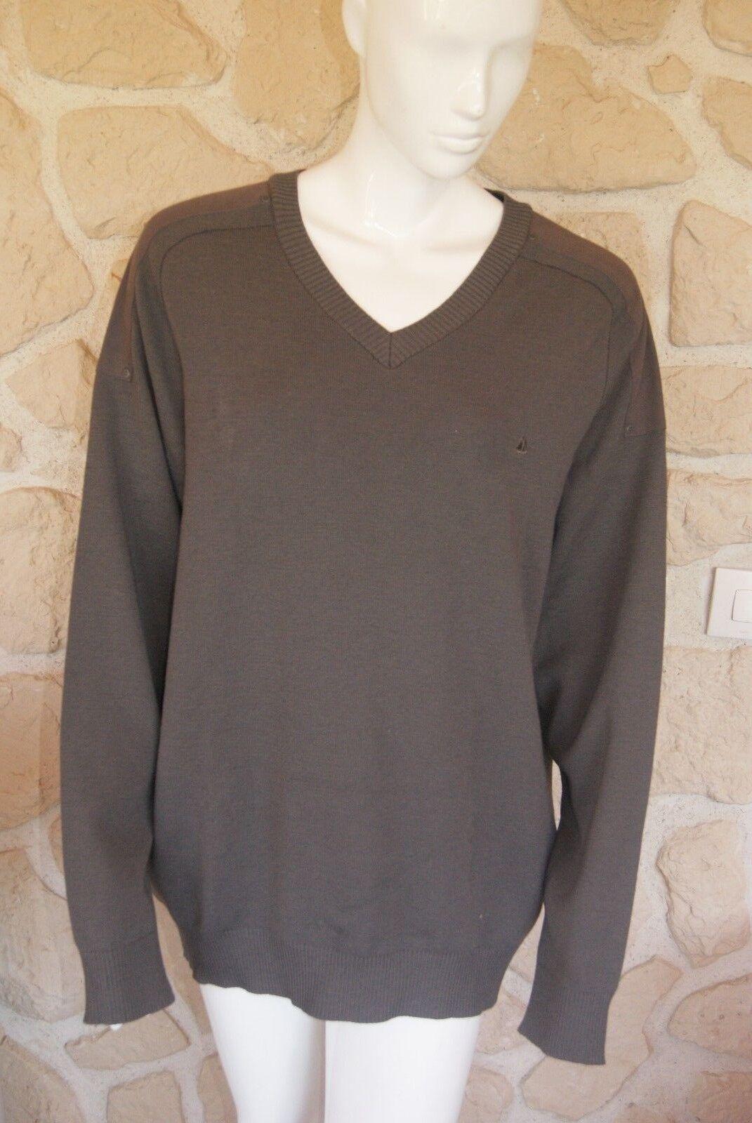 Tres joli pull en laine mérinos taille 6 ROYAL MER BRETAGNE étiquetté