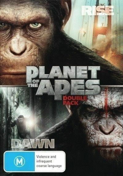 Rise Of The Planet Of The Apes / Dawn Of The Planet Of The Apes (DVD 2-Disc Set)