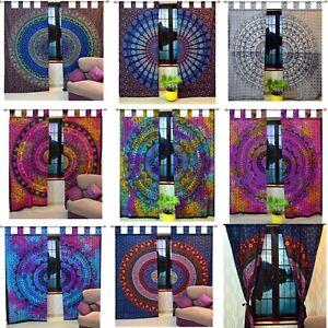 Indian-Curtains-Hippie-Mandala-Tapestry-Wall-Hanging-Bohemian-Window-Valance