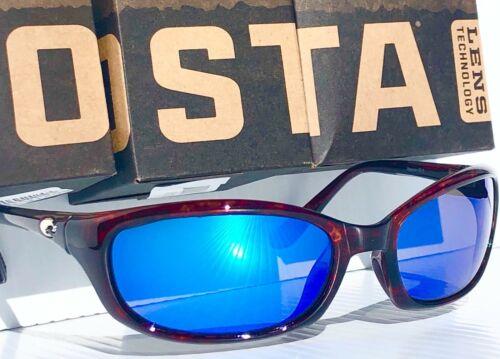 NEW* COSTA DEL MAR BRINE Tortoise POLARIZED 400G Glass Blue Sunglass BR 10