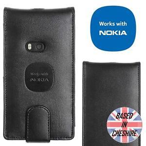 Genuine-Luxury-Alpha-Leather-Flip-Case-for-Nokia-Lumia-820-Tough-Slim-Thin-Cover