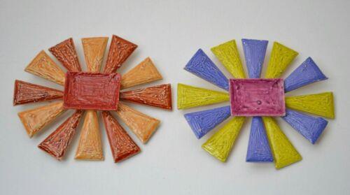 Sun flower enamel Pins Brooches Avant garde Vintag