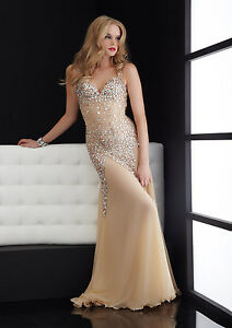 47f2aa97609 Image is loading JASZ-COUTURE-4614-Net-Illusion-Stretch-Chunky-Stone-