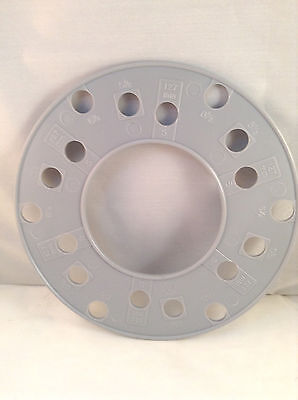Wheel Axle Bolt Pattern Guage Template 6 bolt SAE or Metric