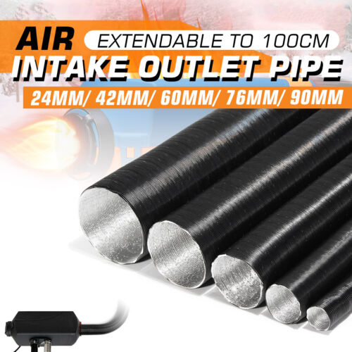 Aluminum Foil Air Inlet Pipe Car Accessories Parking Warm Heater Duct