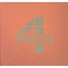 4MINUTE - 1st Album [4MINUTES LEFT]CD+Booklet K-POP Sealed CUBE