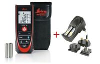 Leica Disto D2 W/ Bluetooth 4.0 2016 Model & Leica Uc20 Aaa Battery Charger