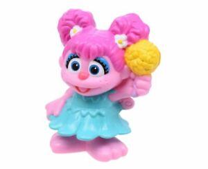 Details About Sesame Street Friends Abby Cadabby Muppet Figure Figurine Birthday Cake Topper