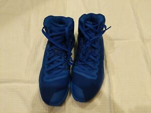 cb362af23b738b Nike Hyperdunk 2016 Elite Flyknit Game Royal Wolf Grey-White 843390 ...