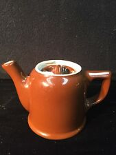 Vintage HALL SMALL PERSONAL BROWN TEAPOT MADE IN USA 🇺🇸 ADORABLE!!!
