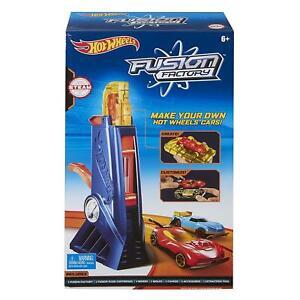 Hot-Wheels-Fusion-Factory-Car-Maker-Create-Custom-Unique-Compound-Garage-Mattel