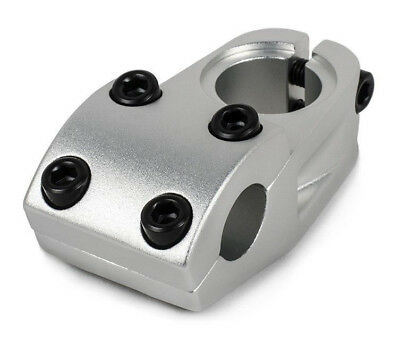 RANT JOLT TOP LOAD BMX BICYCLE STEM SHADOW CONSPIRACY SUBROSA POLISHED SILVER