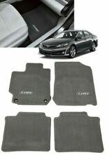 2012 2014 Camry Floor Mats Ash Gray 4 Piece Set Genuine Toyota Pt208 03120 13 Fits 2012 Toyota Camry