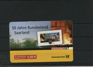Germany-BRD-Federal-Stamp-Booklet-MH-67-Postmarked-Used-More-See-Shop