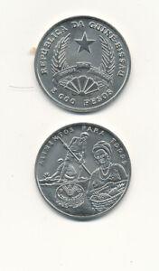 Guinea-Bissau-2000-Pesos-1995-UNC-FAO-Commemoration-issue