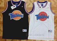 Space Jam Tune Squad Basketball Jersey Michael Jordan 23 Black White S M L Xl
