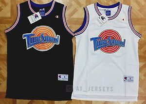 cheap for discount a5a91 bbc83 Details about Space Jam Tune Squad Basketball Jersey Michael Jordan #23  Black White
