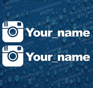 INSTAGRAM-YOUR-NAME-X2-FUNNY-JDM-DRIFT-EURO-WINDOW-VW-VINYL-DECAL-CAR-STICKER