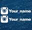 INSTAGRAM-YOUR-NAME-X2-FUNNY-JDM-DRIFT-EURO-WINDOW-VW-VINYL-DECAL-CAR-STICKER thumbnail 1