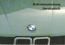 BMW 5er E28 Betriebsanleitung 1984 blanco Serviceanteil Handbuch M 535 BA
