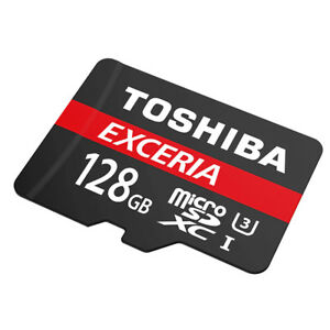 Toshiba-128GB-Micro-SD-SDXC-Memory-Card-EXCERIA-M302-UHS-I-U3-Class-10-90MB-S