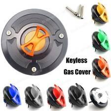 Motor Parts Aluminum Keyless Fuel Gas Tank Cap Cover For KTM Duke 125 2011-2016