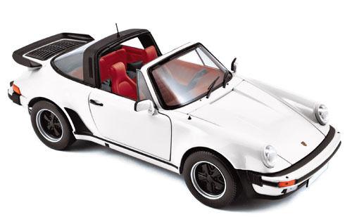 Porsche 911 Turbo 3.3 Targa white  930 1978-1989 Norev 1 18 NEW FREE SHIPPING