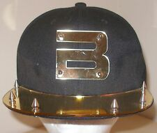 NEW KPOP BIG BANG BIGBANG GOLD MIRROR BLACK BASEBALL CAP HAT GD TOP SEUNGRI TAEY