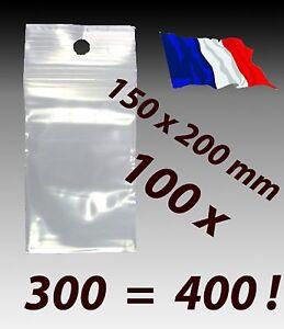 LOT-100-sachets-pochette-pochon-plastique-zip-150x200-15x20-alimentaire-f