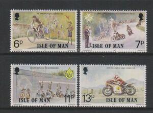 Isle of Man - 1977, Linked Anniversaries set - MNH - SG 99/102