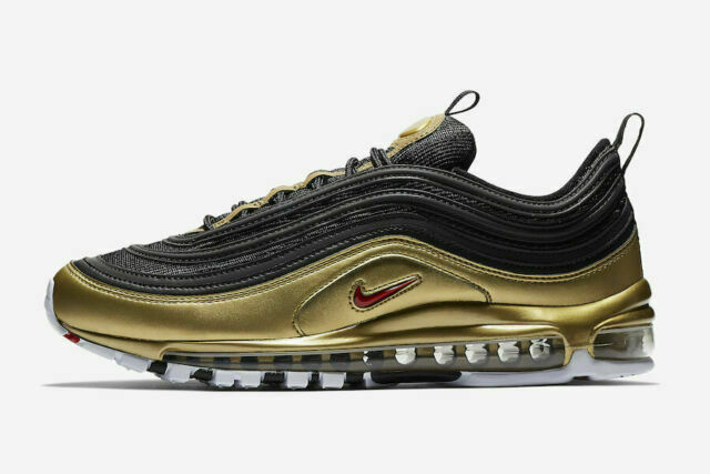 Size 13 - Nike Air Max 97 QS Metallic Gold 2018 for sale online | eBay