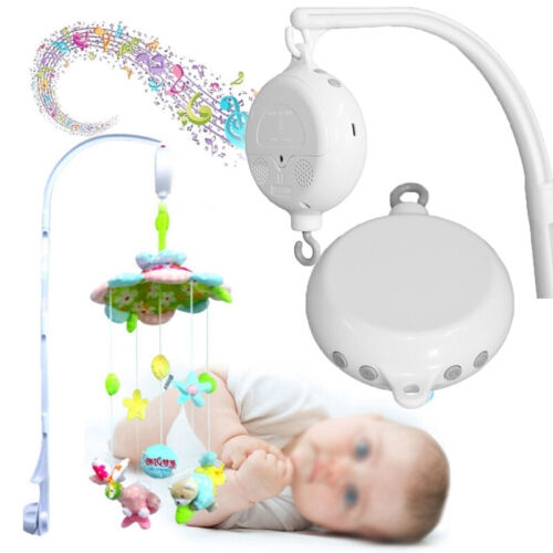 Room Nursery 35 Songs Rotary Baby Mobile Crib Bed Toy Music Box Movement Bell
