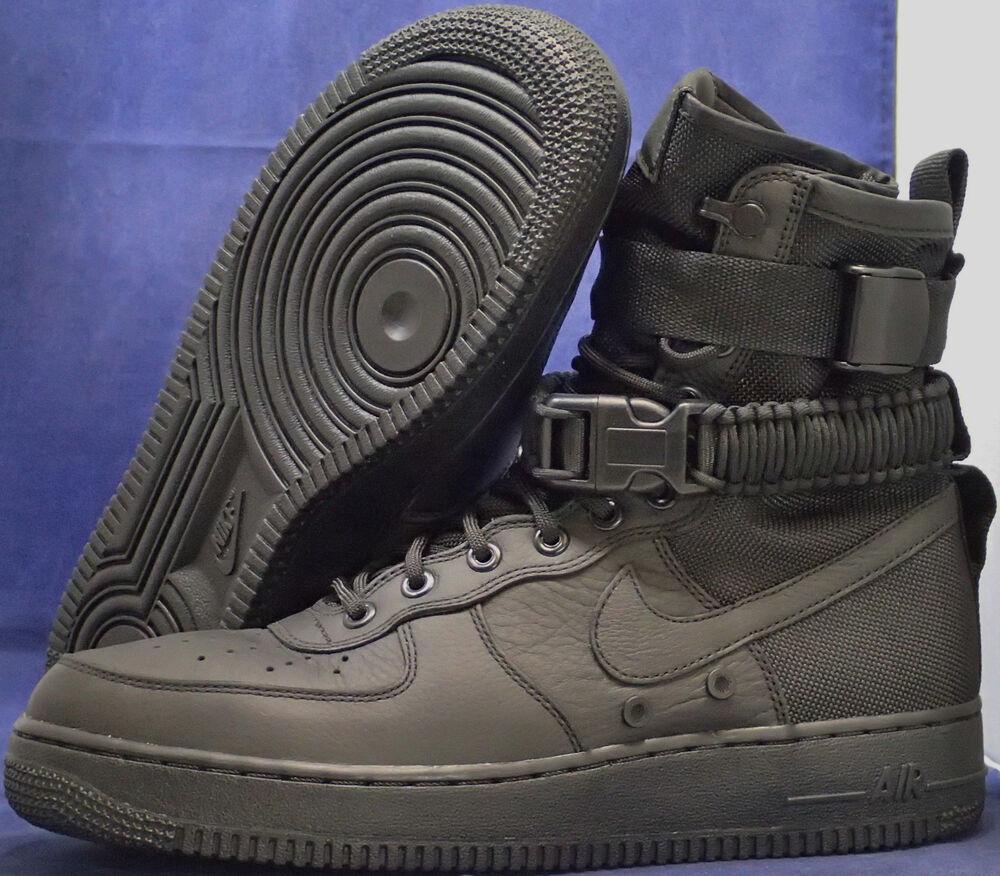 vente chaude en ligne 7cd1d 22332 Nike SF Air Force 1 Noir AF1 Homme Homme Homme Chaussures de ...