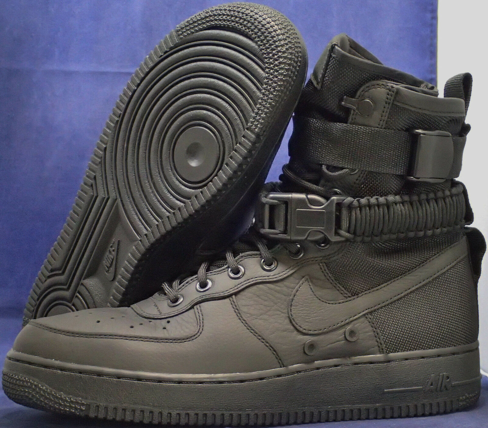 1a3021d04b63 Nike SF Air Air Air Force 1 Black AF1 SZ 10 ( 864024-003 ) a1d065 ...