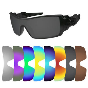 3fabbd42ce Image is loading Polarized-Replacement-Lenses-for-Oakley-Oil-Rig-Sunglasses-