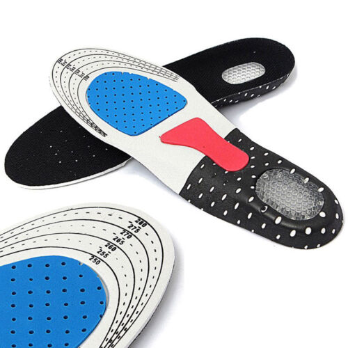 Men/'s Gel Orthotic Sport Running Pad Arch Support Cushion Insoles Insert Shoe