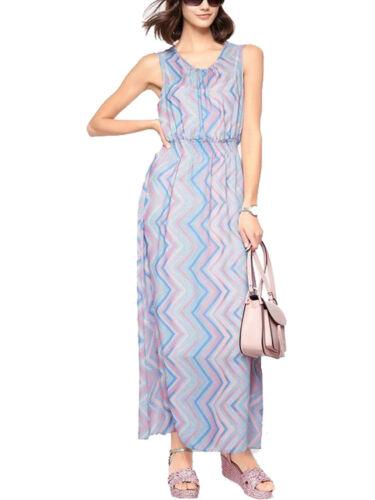 Kleider Ref 517 Heine Best Connections Ladies Mint Chevron Print Maxi Dress New Kleidung Accessoires Bailek Com