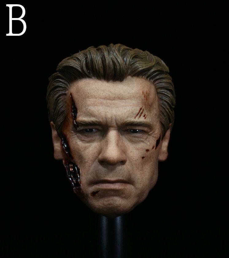 1 6 6 6 Scale Soldiers Accessories blackenegger's Head Sculpt F12  Action Figure 8ce71a