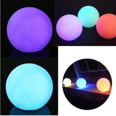 Spheriform LED Color Changing Mood Ball Shaped Night Light Home Room Decor Lamp