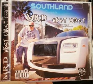 MR-D-WEST-COAST-OFFICIAL-CD-WESTCOAST-G-FUNK-CHICANO-RAP-SOUTHLAND-2019-NEW