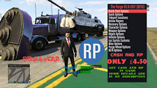 GTA 5 ONLINE  MONEY AND RP!! FOR XBOX 360 Read Description!!